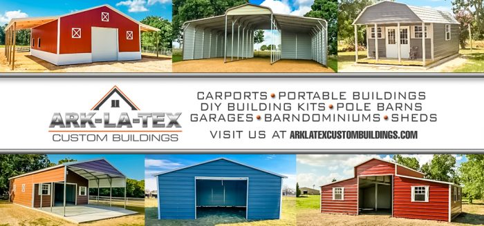 ARK-LA-TEX custom buildings