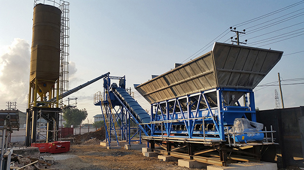 EUROTEC Concrete Batching Plant is Serving First Flyover Project in