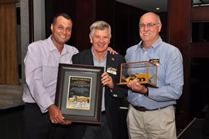 BMG wins supplier awards from Bell Equipment
