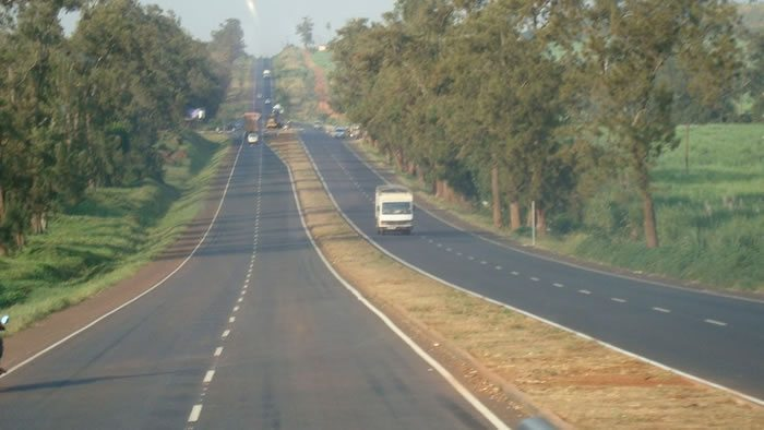 A section of Jinja Road