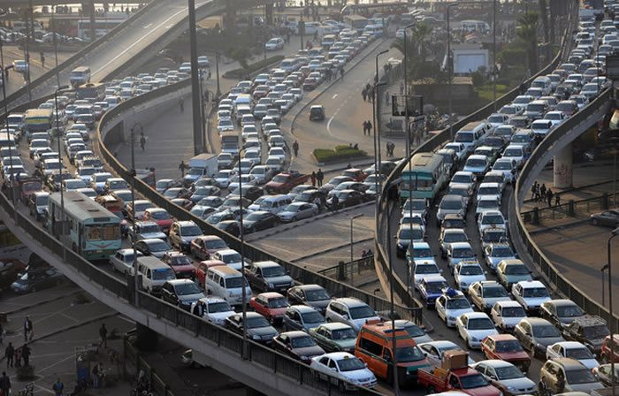Egypt-cairo-traffic