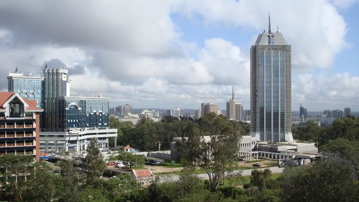 A section of Nairobi