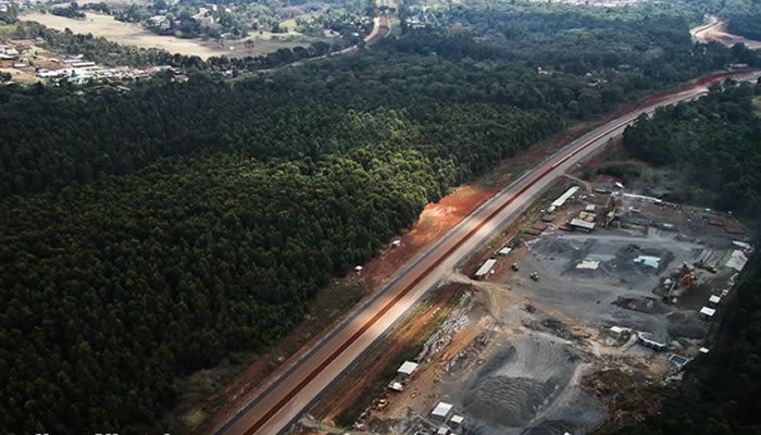 The Southern Bypass, Ngong Forest section