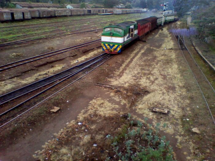 A section of the Kenya-Uganda Railway