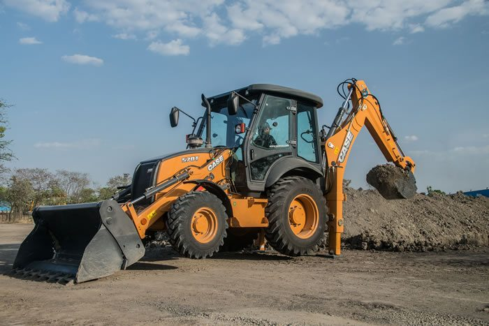 Case Construction Equipment Further Expands Its Backhoe