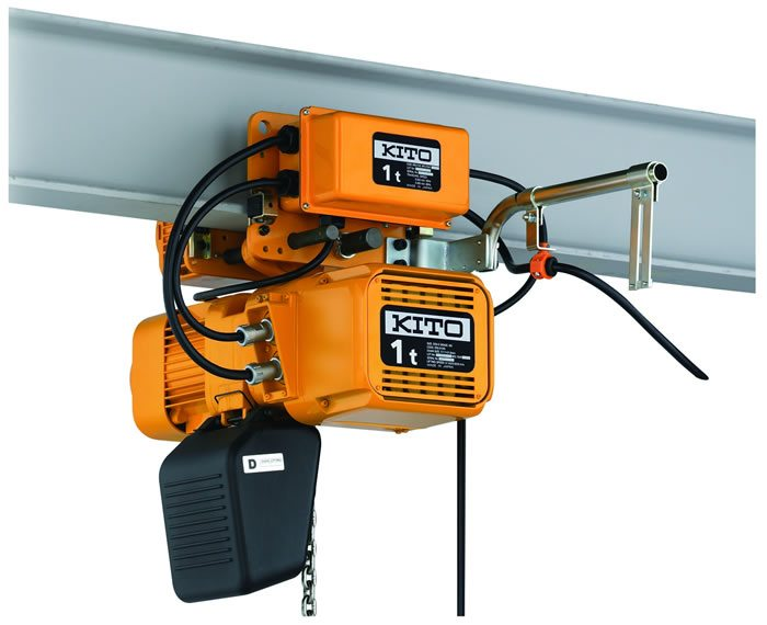Kito ER2 electric chain hoists