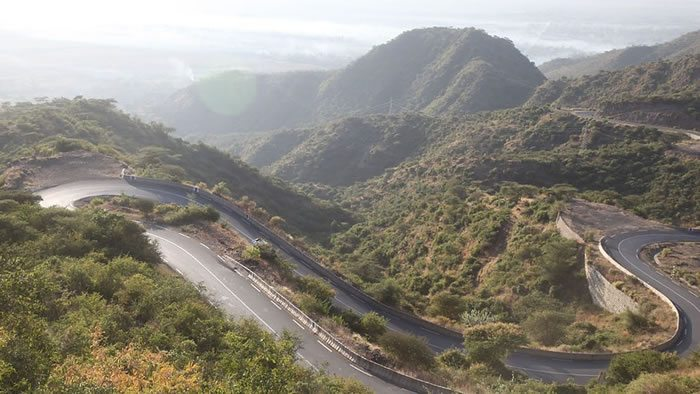 Road in Ethiopia
