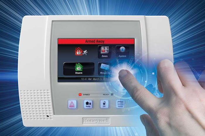 lynx touch from Honeywell Security