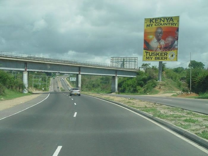 A Section Of The Mombasa Road