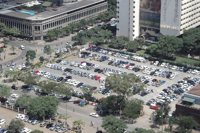 A-car-park-situated-near-Hilton-Hotel-Nairobi