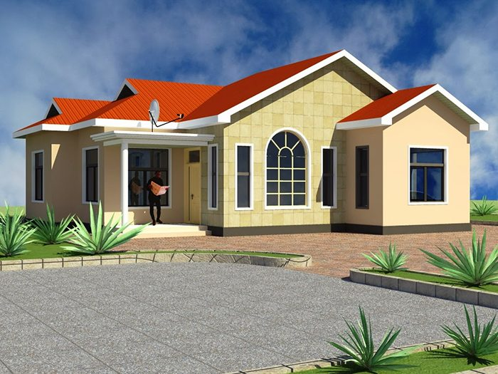 A-model-of-a-house-in-Tanzania