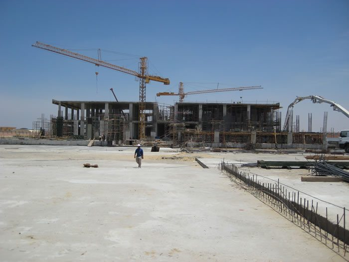 Arab Contractors construction site