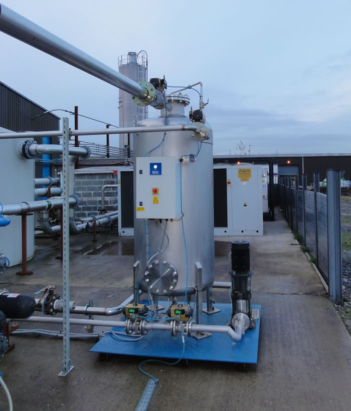 CrossFlow HEMF installed in the process water plant at Customs Extrusions