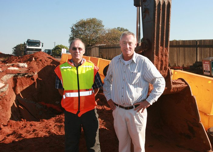 Bulk water infrastructure project SA
