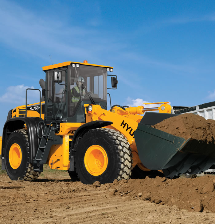 HPE Africa - Hyundai wheel loader HL760-9 series 1