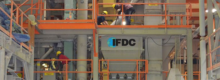 IFDC fertilizer production plant