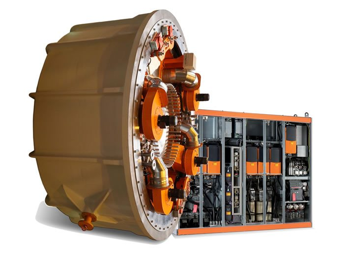 The Switch lowspeed directdrive permanent magnet generator (PMG) and full-power converter (FPC)2