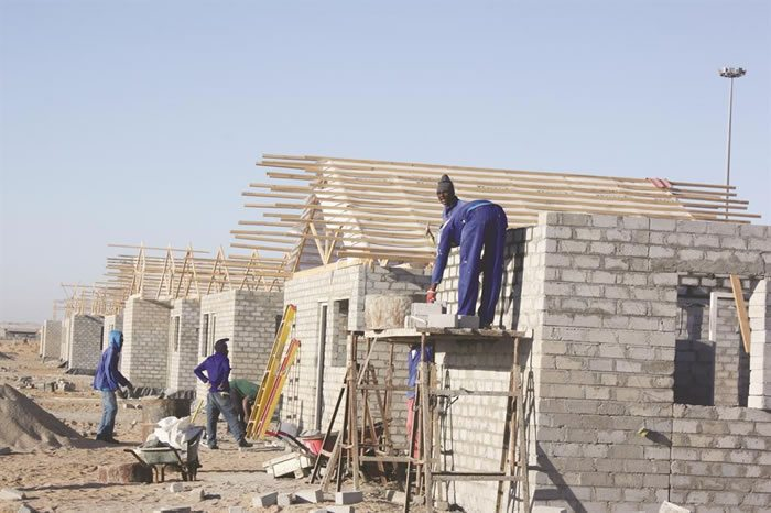 Windhoek mass housing project in namibia to be completed for How much can i build a house for