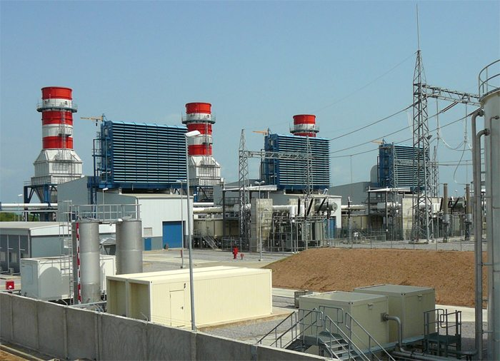 Geregu II gas-turbine power plant