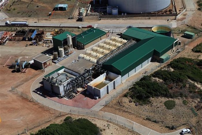 Mossel Bay water desalination plant