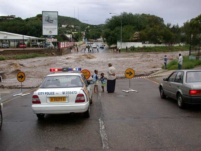 Road Near Klein Windhoek River