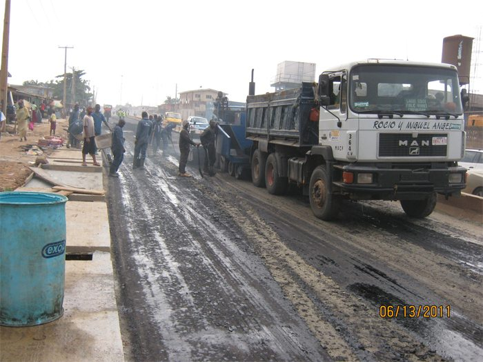 road construction Nigeria