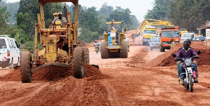 Repairing works on Uganda's Jinja highway to proceed