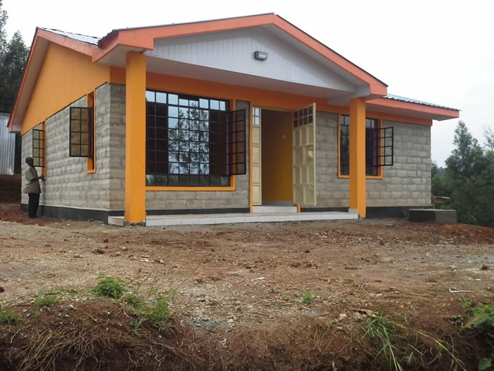 Kenya brick houses joy studio design gallery best design for Brick home construction costs