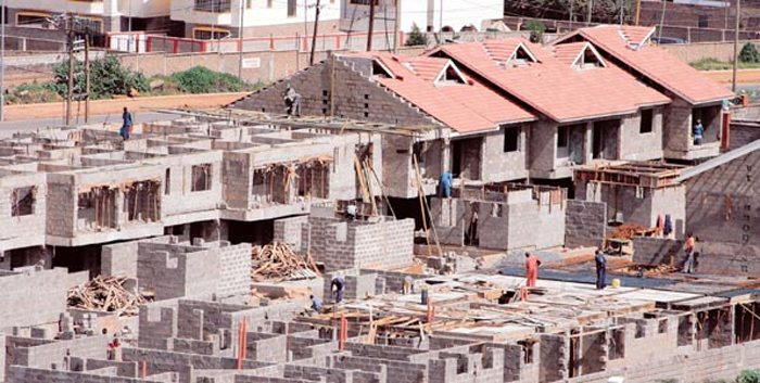 Houses construction