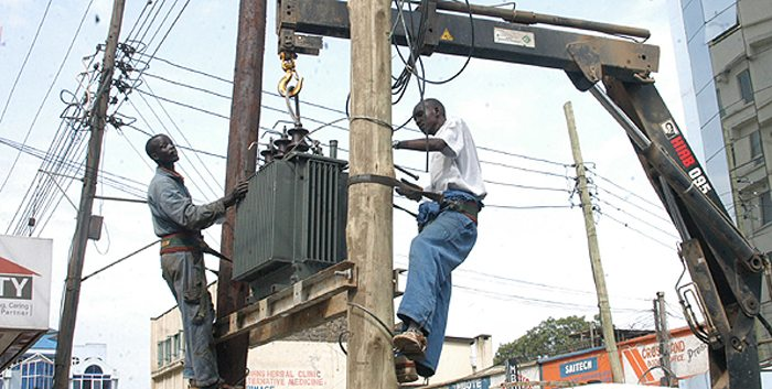 Installation of Transformer