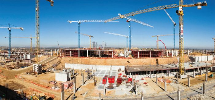Mall of Africa construction