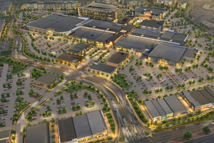 Renderings of Foot Hill Mall redevelopment