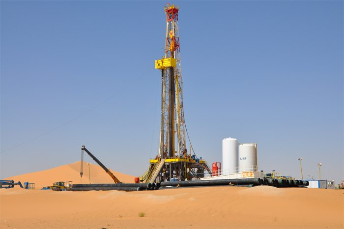 Gas drilling Algeria