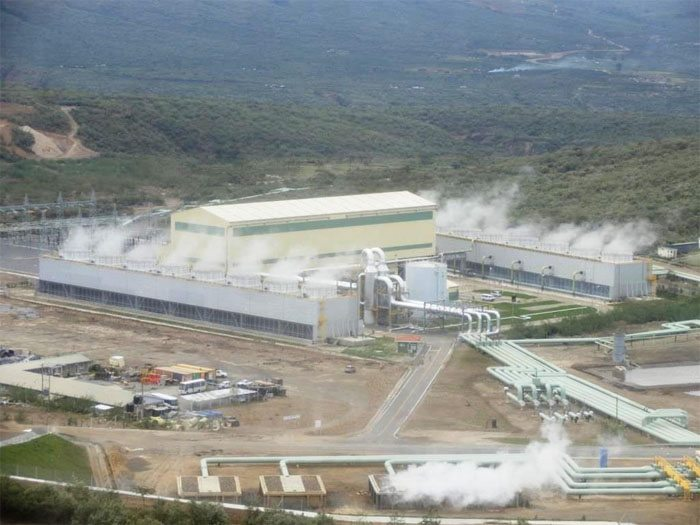Olkaria IV Geothermal Power Plant