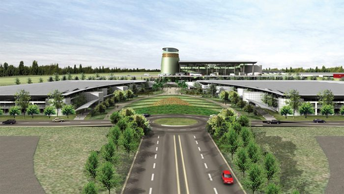 Proposed Kenneth Kaunda Airport Lusaka