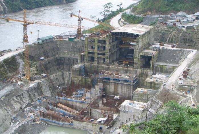 Construction_of_Subansis power station