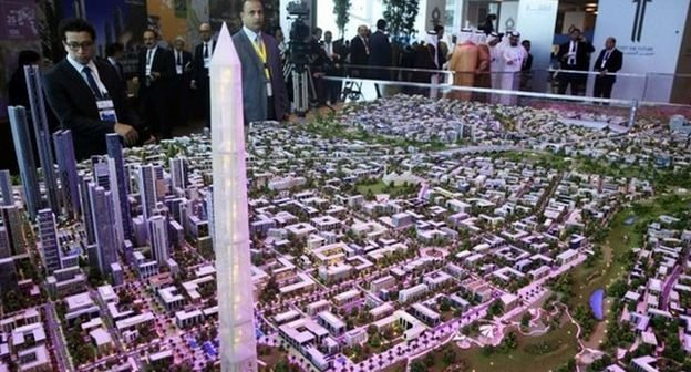New capital for Egypt