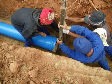 Pipelines can sometimes be several kilometres long, it is therefore beneficial to test the pipeline in sections