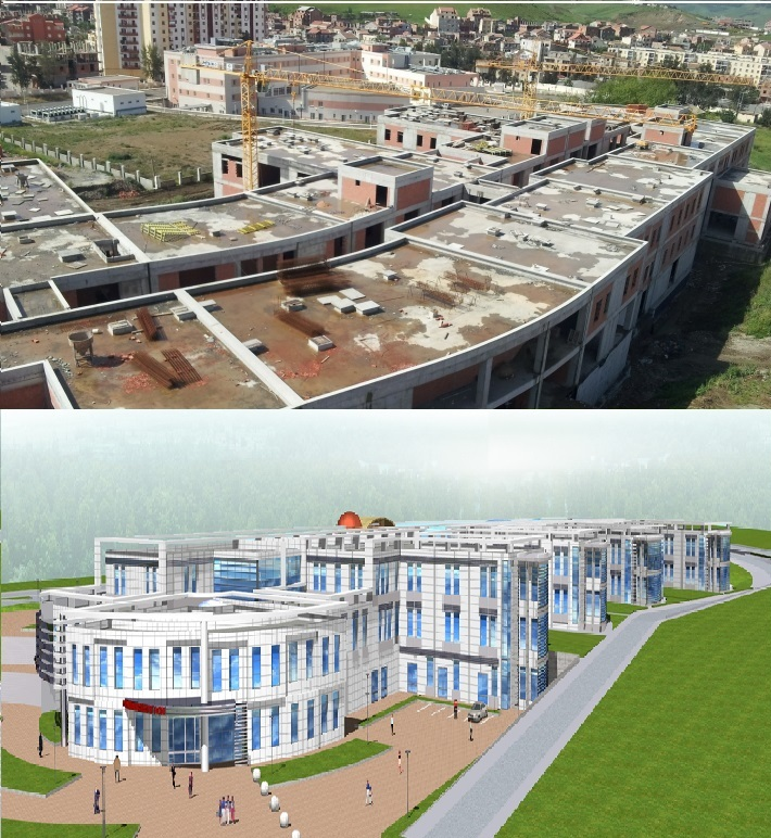 Tizi Ouzou hospital construction
