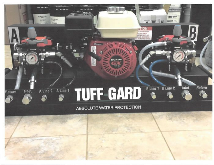 Tuff gard applicator