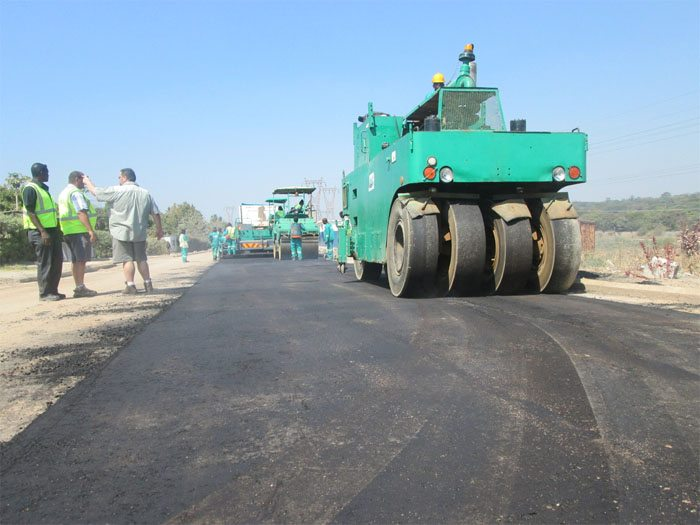 Zambia road construction