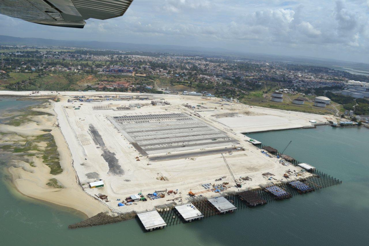 2nd Container Terminal under construction