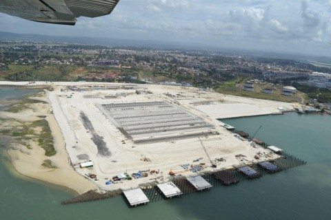 2nd container terminal-under construction at Mombasa port