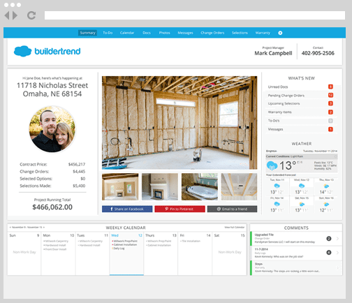 BuilderTrend Residential Construction software