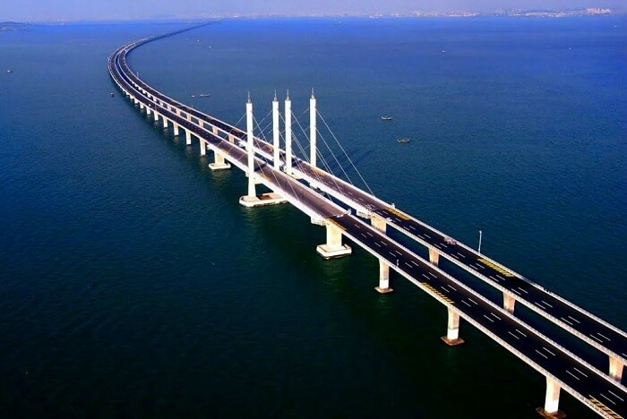 The Following Are The Longest Bridges In The World Currently