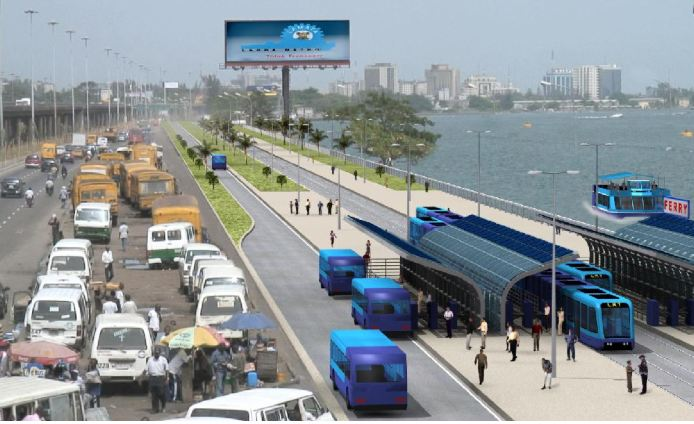 Iddo light railway station Badagry 10 lane express-way