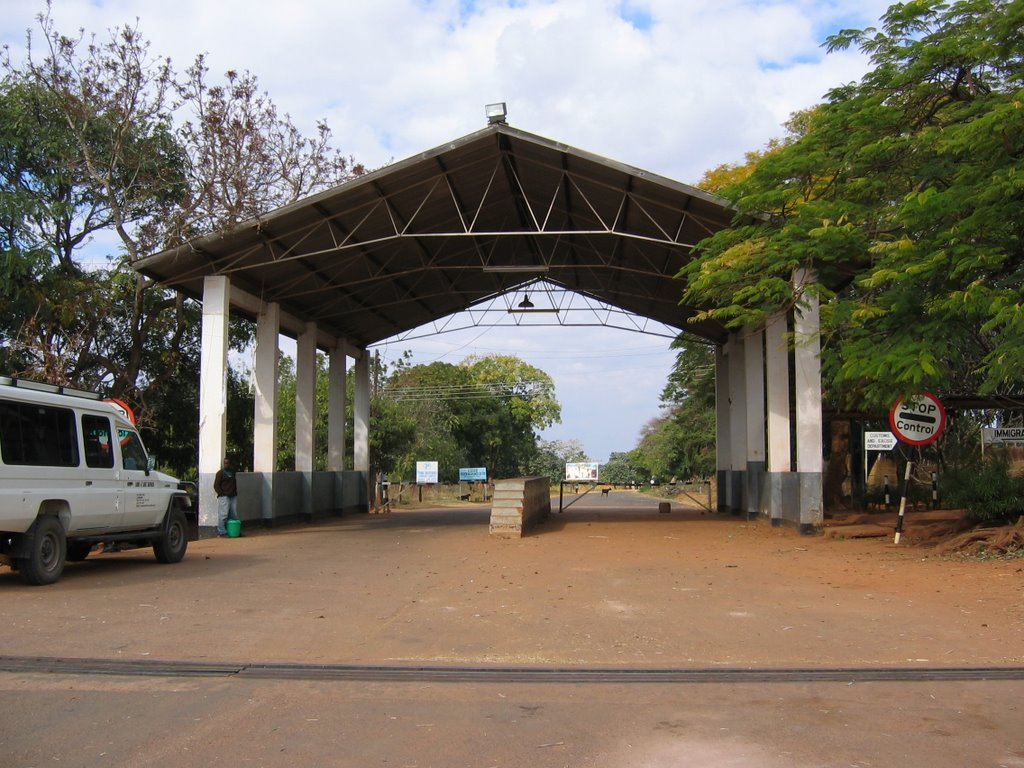Malawi border post-