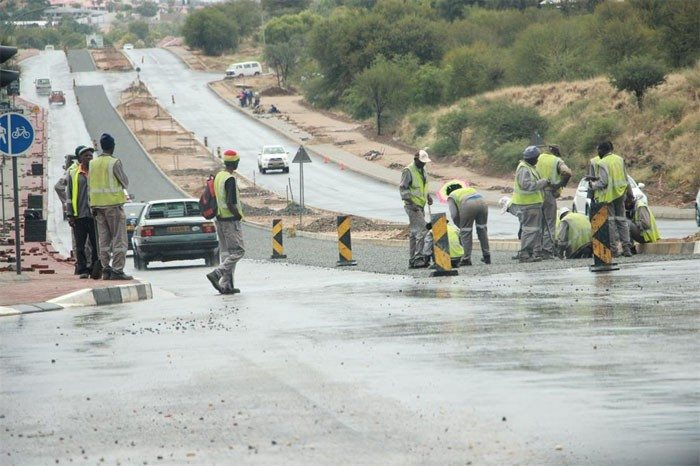 Namibia-road-contractor construction