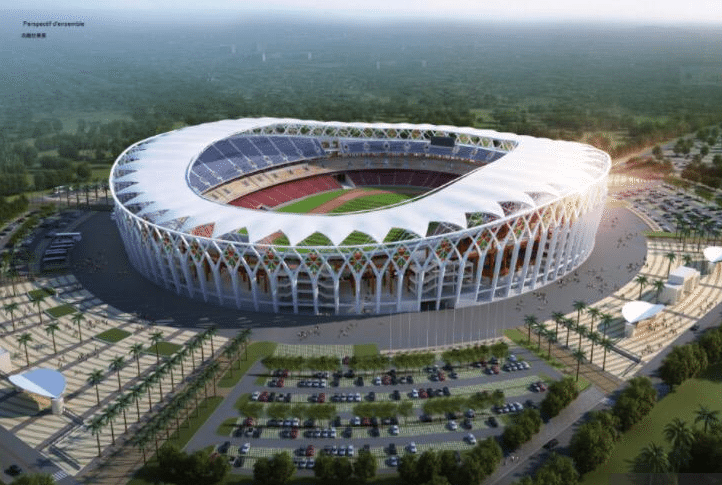 Proposed Olympic stadium of Ebimpe for Ivory Coast