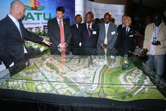 Planned Tatu City in Kenya